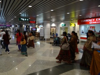 16 Indian people in Airport