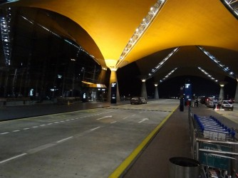 22 Entrance to the KLIA