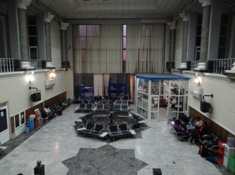 26 International tranzit zone Tashkent Airport