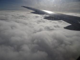 38 Cloud under wings