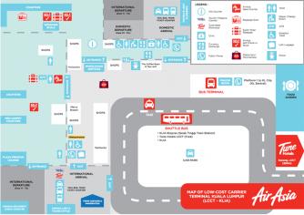 01 LCCT Map Floor Plan