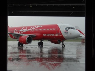 30 Parking AirAsia plane