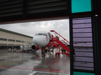 35 Air Asia plane ready to doarding