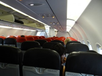 39 Inside airplane Air Asia