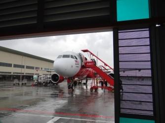 04 Boarding AirAsia plane
