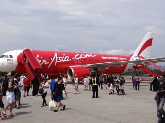 37 AirAsia plane on Langkawi