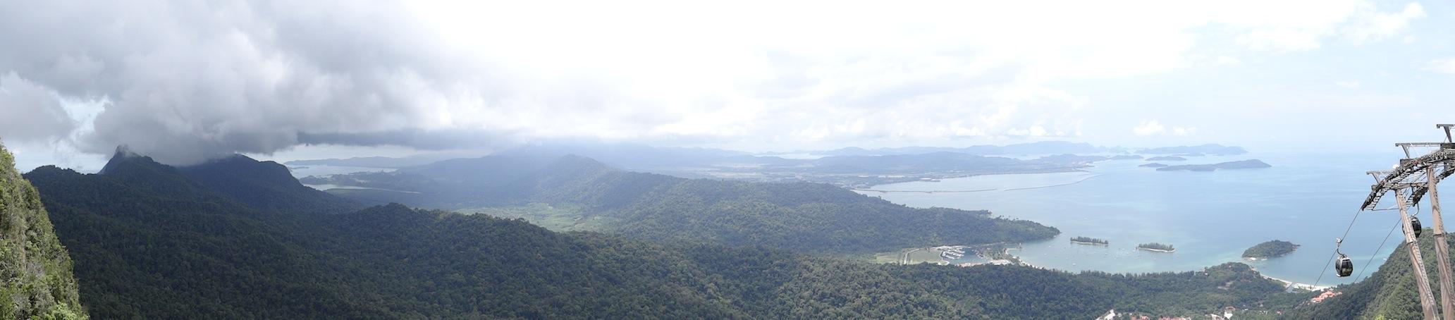 02 Panorama Langkawi island