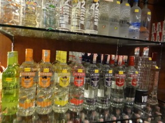 12 Vodka duty Free