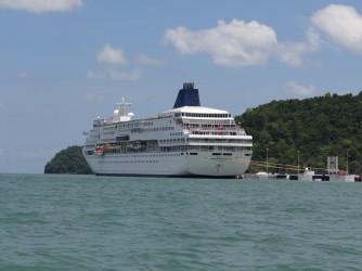 52 Cruise liner Langkawi
