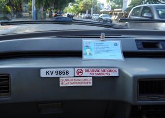 02 Taxi Langkawi license