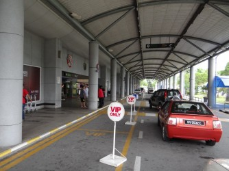 05 Taxi parking Langkawi airport