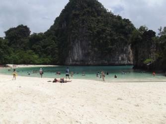 15 Beach on island