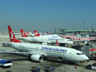 Turkish Airlines plane Istanbul