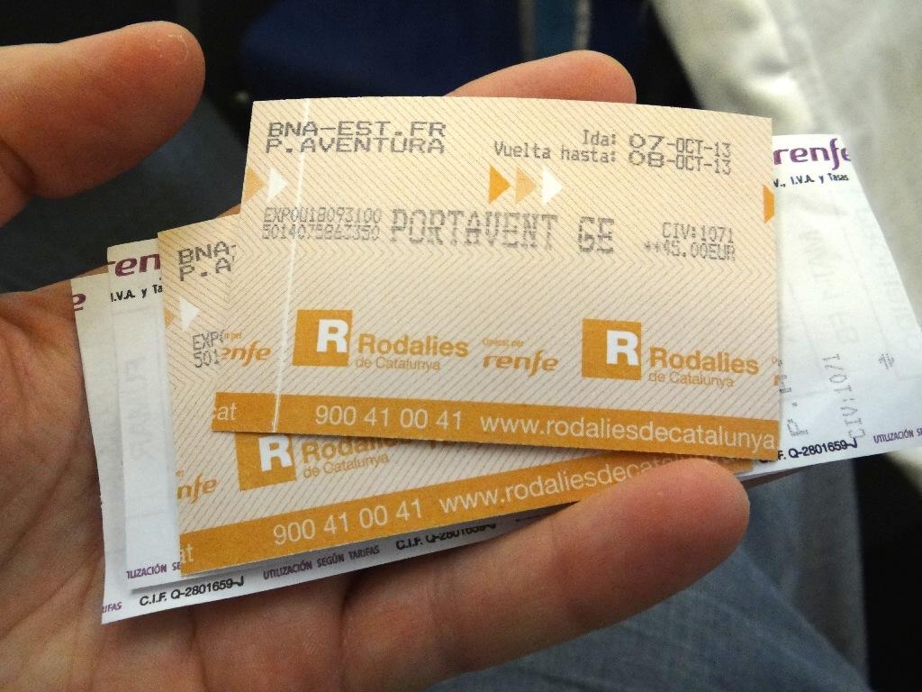 Barselona - PortAventura ticket