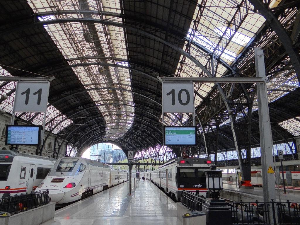 Barselona - PortAventura train