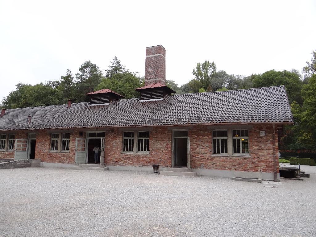 Dachau crematorium
