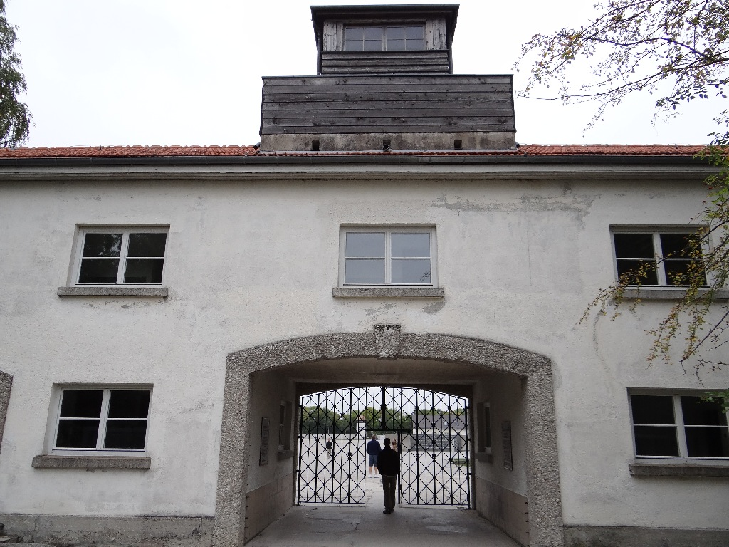 Dachau enterance