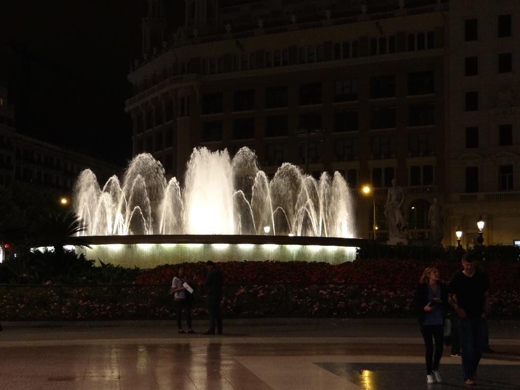 Fountains Barcelona center