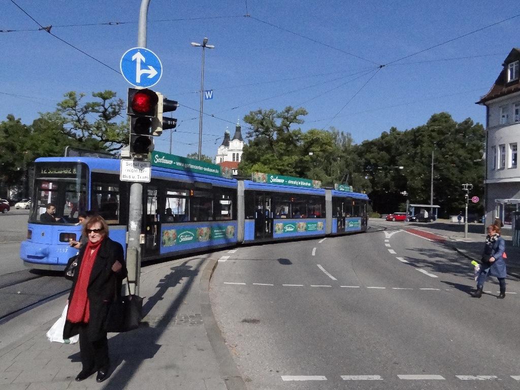 Munich tramph