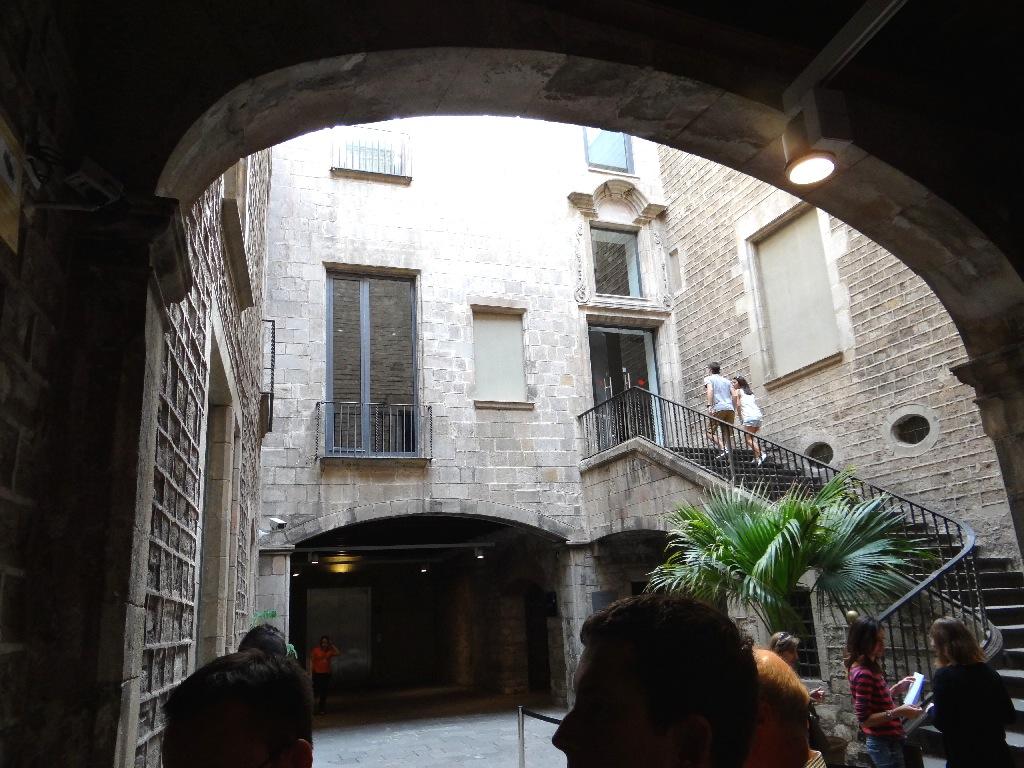 Museu Picasso enterance