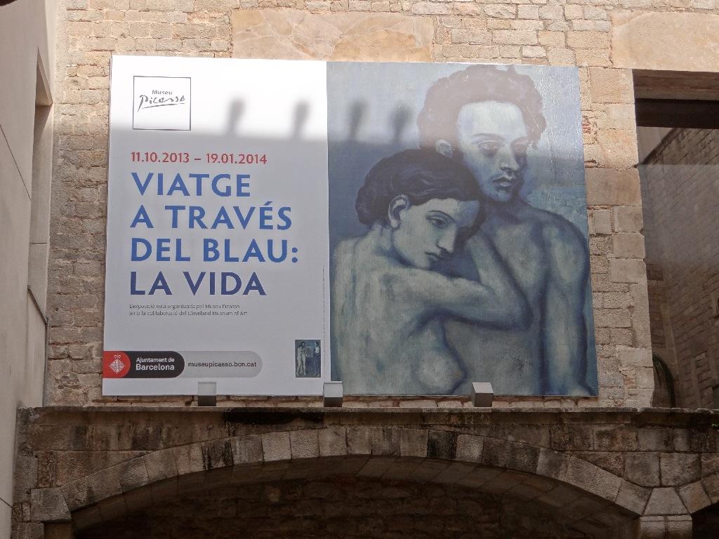 Museu Picasso panno