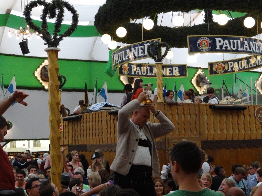 Oktoberfest festival beer