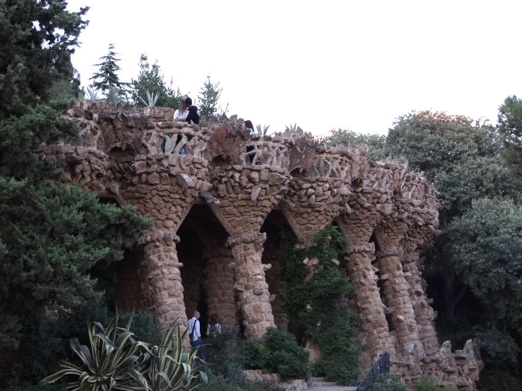 Park Güell colon