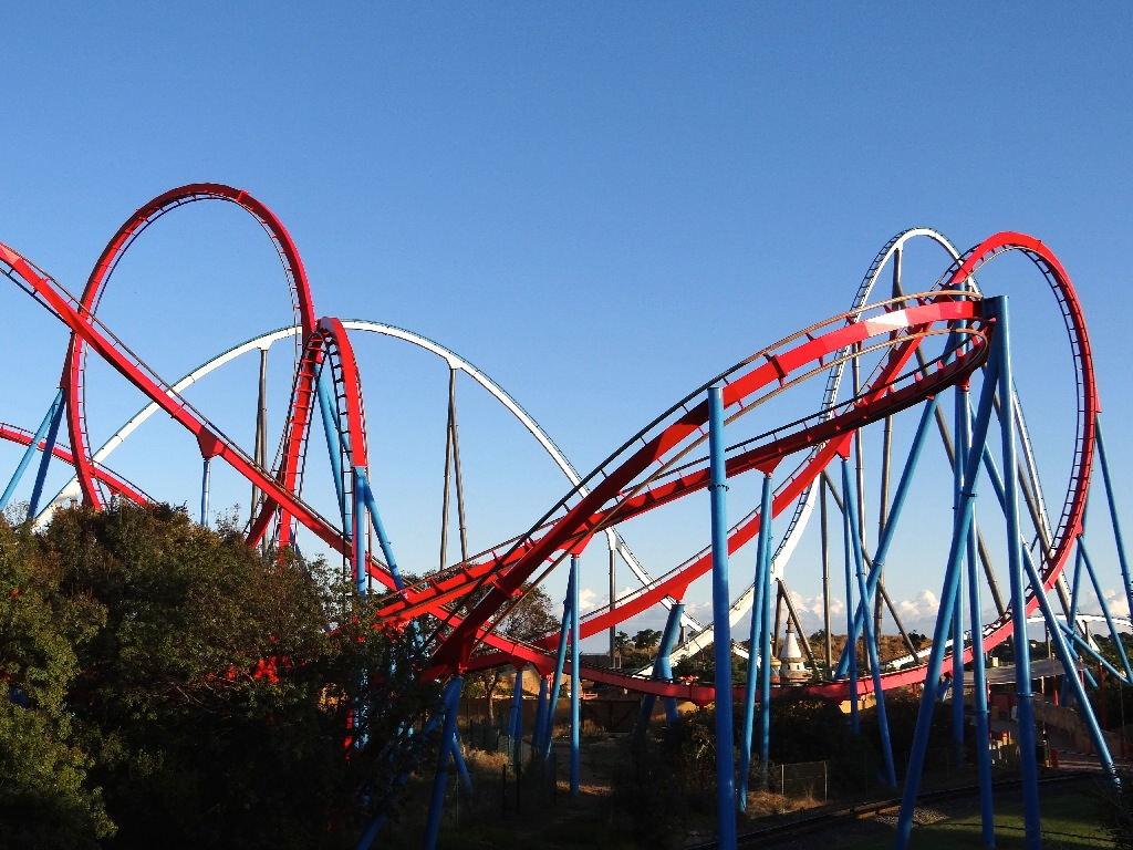 PortAventura China Red Dragon