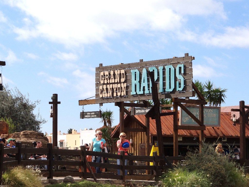 PortAventura Grand Canyon Rapids