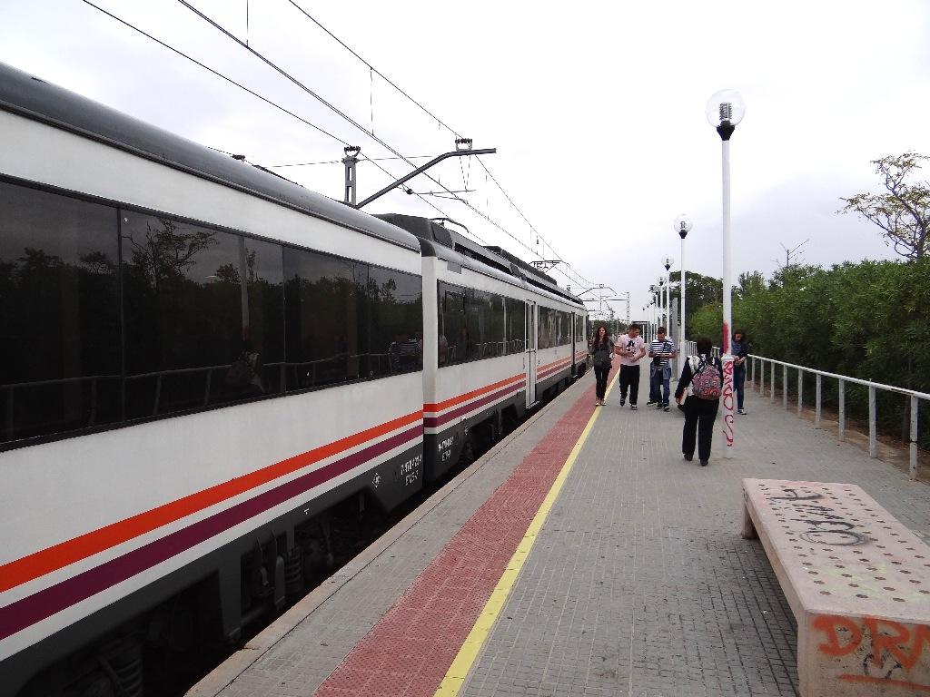 PortAventura railroad stop