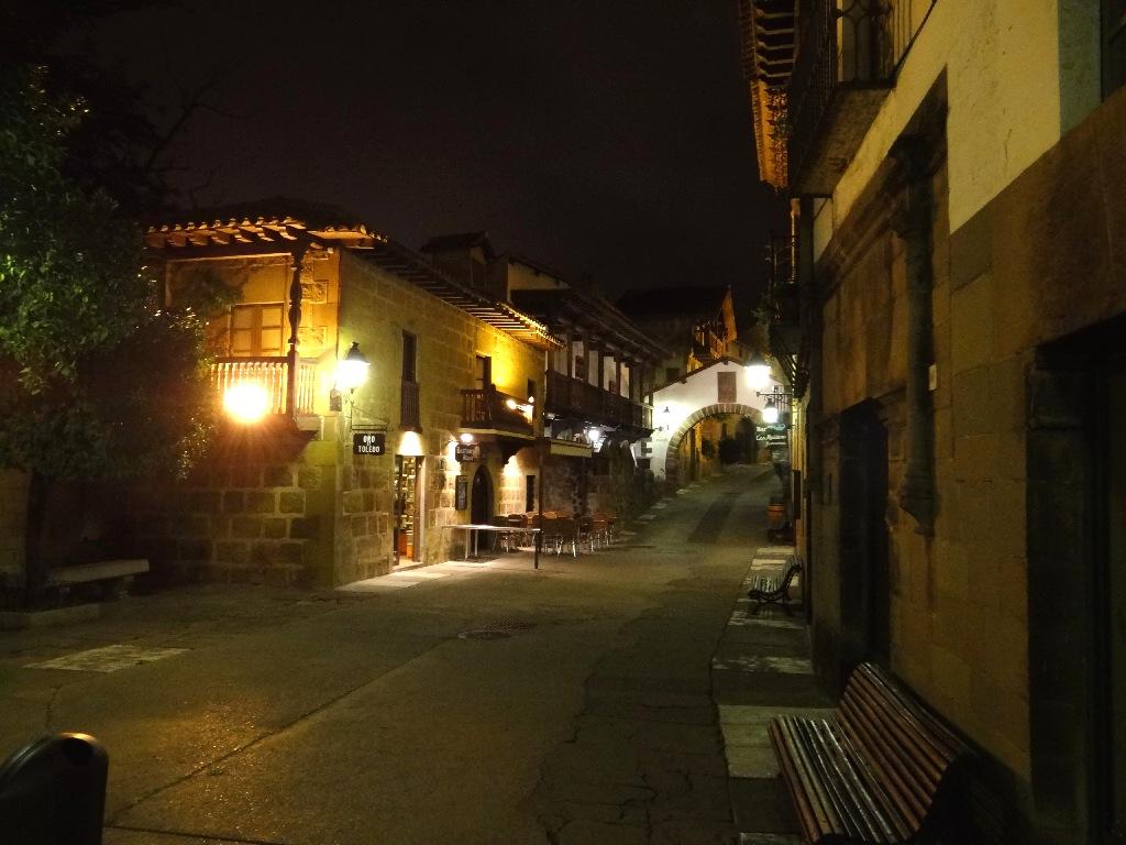 Pueblo Español main street