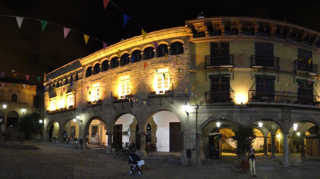Pueblo Español panorama