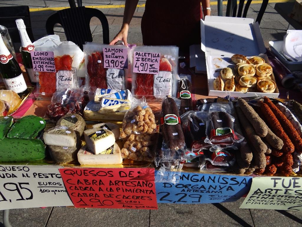 Rambla food fair