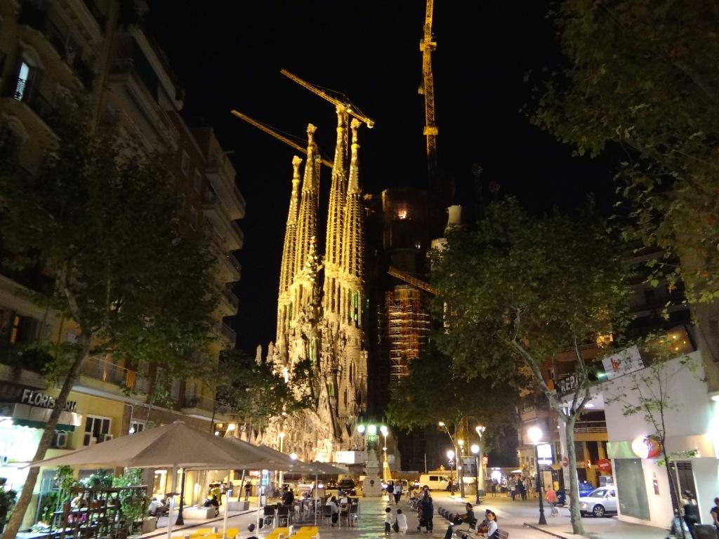 Sagrada Família view