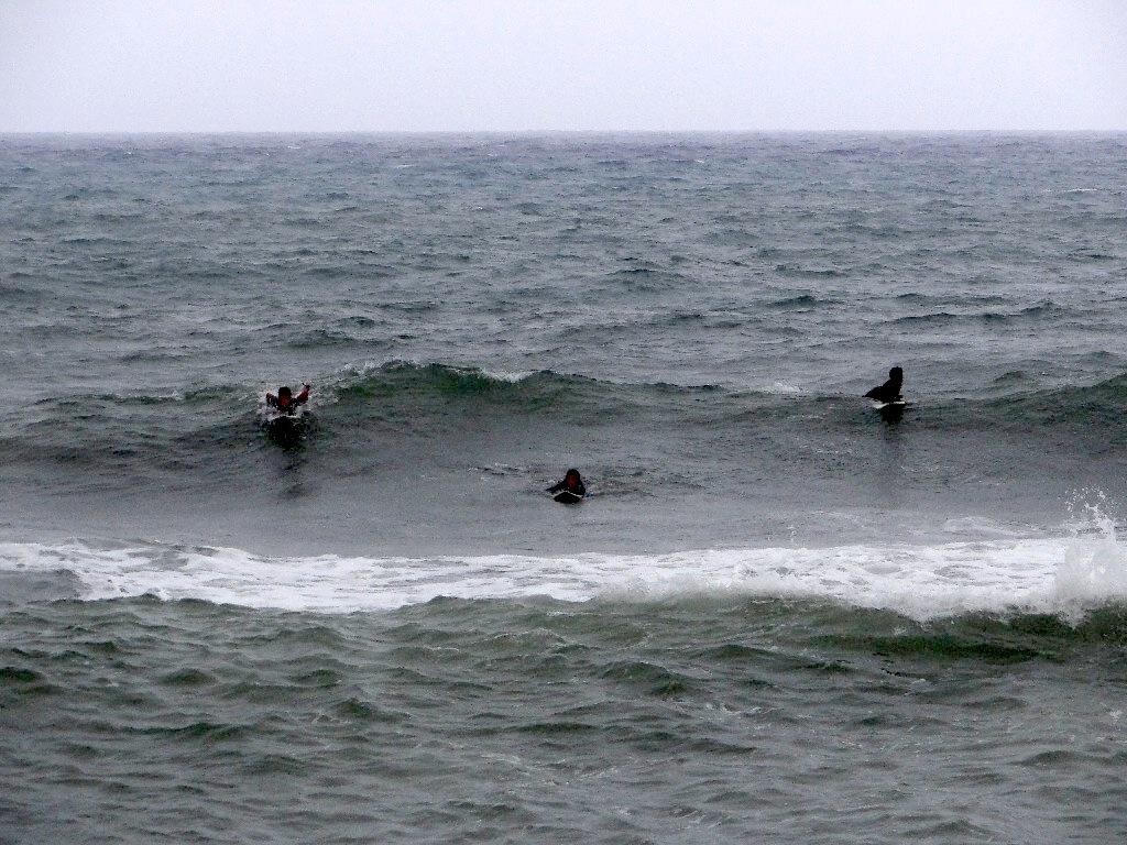 Seaside serfing