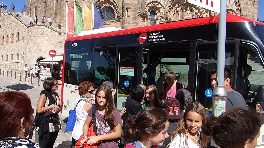 Tibidabo bus