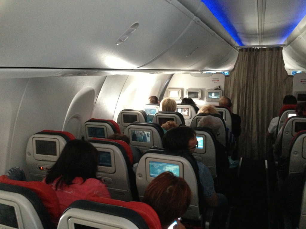 Turkish Airlines interior