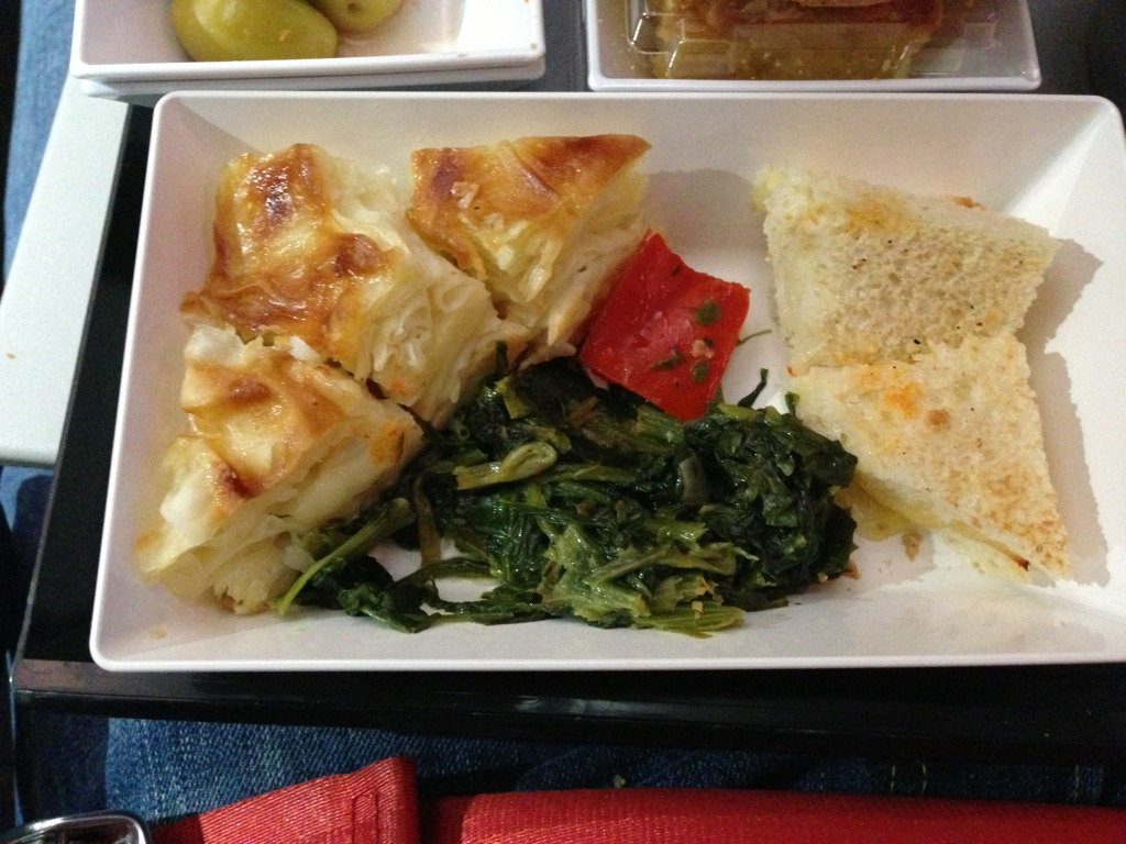 breakfast on turkish airlines