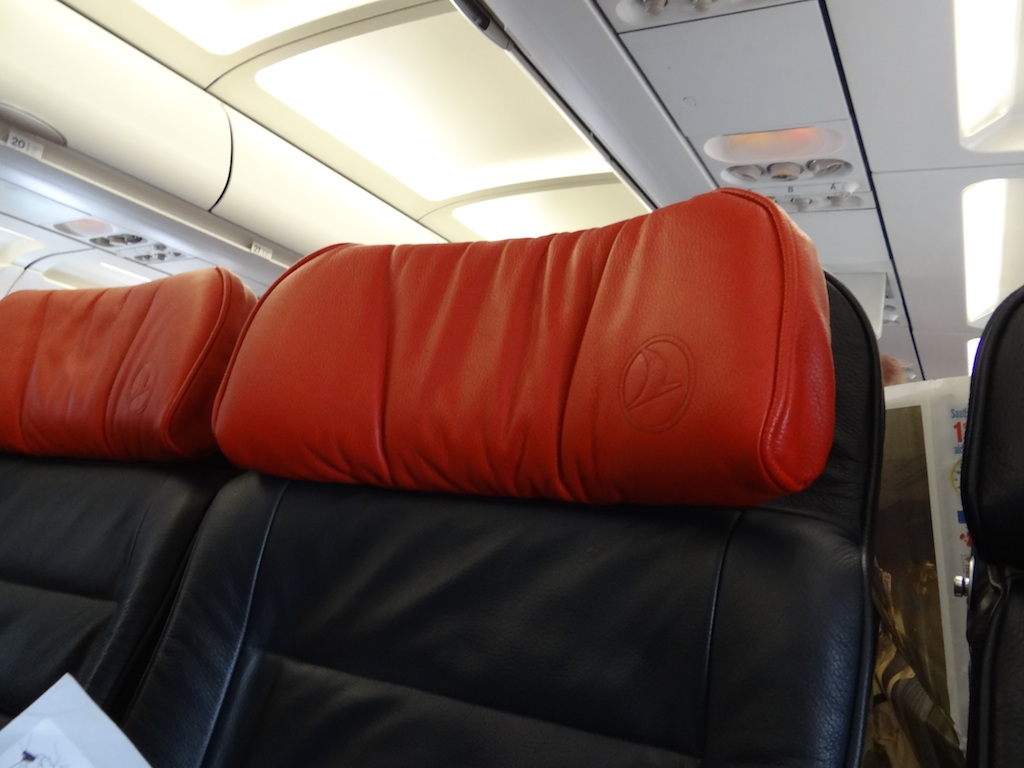 leather seats Turkish airlines