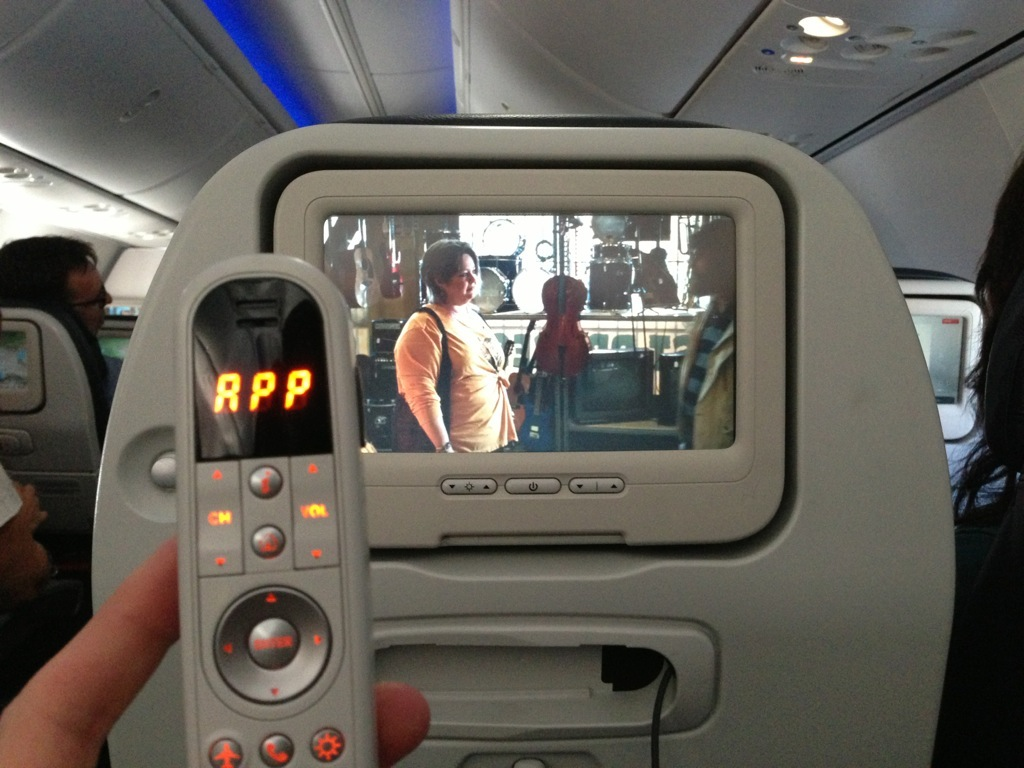 multimedia joystick Turkish Airlines