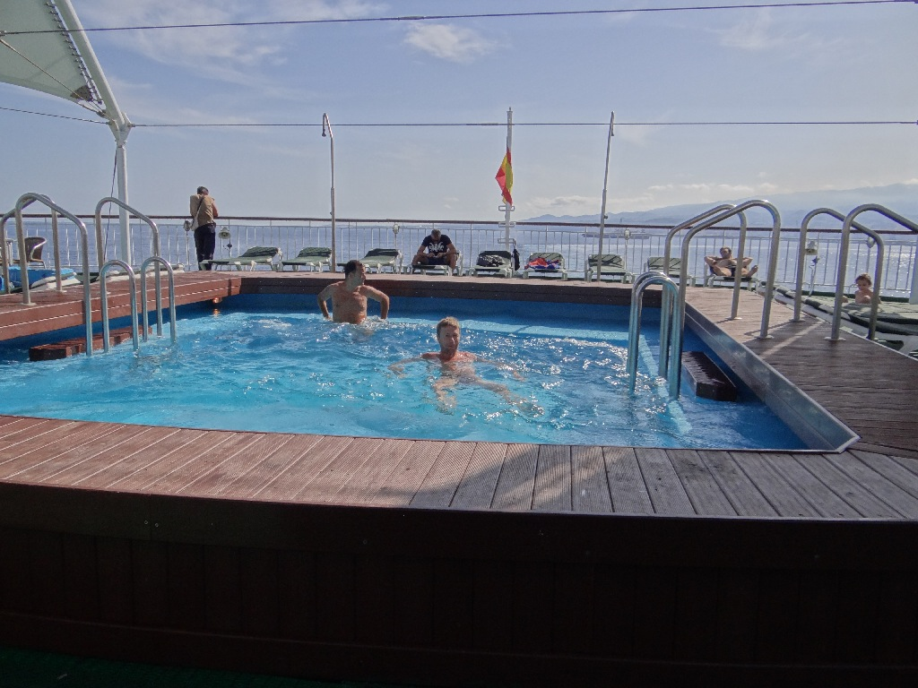 Armas upper deck pool