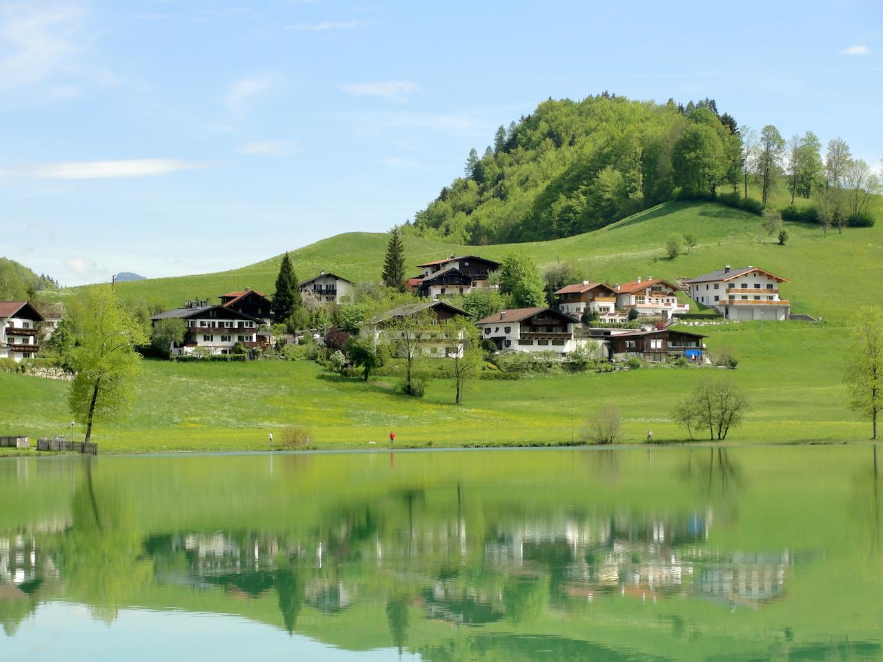 Austria Tirol green hills