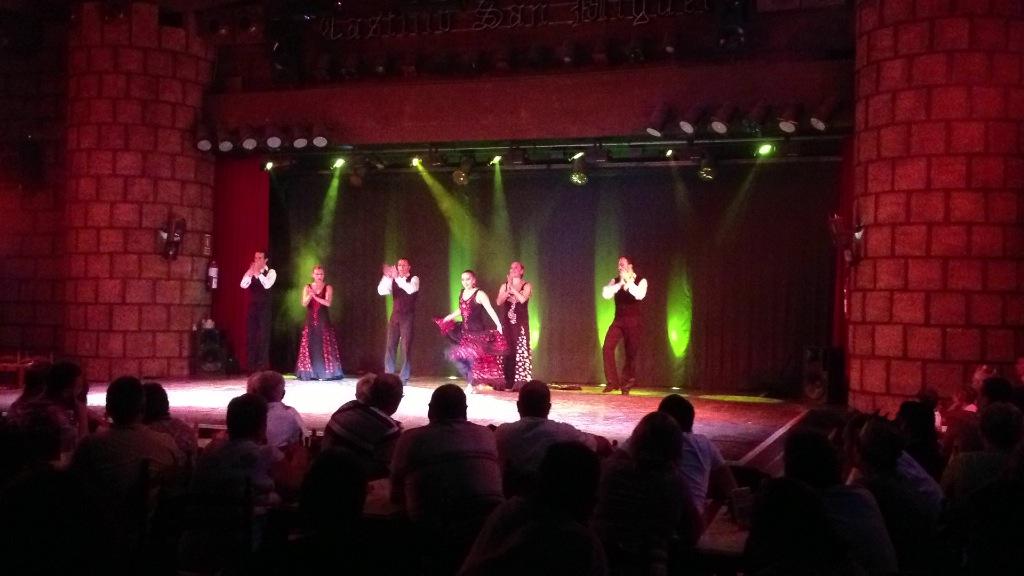 Castillo San Miguel flamenco show