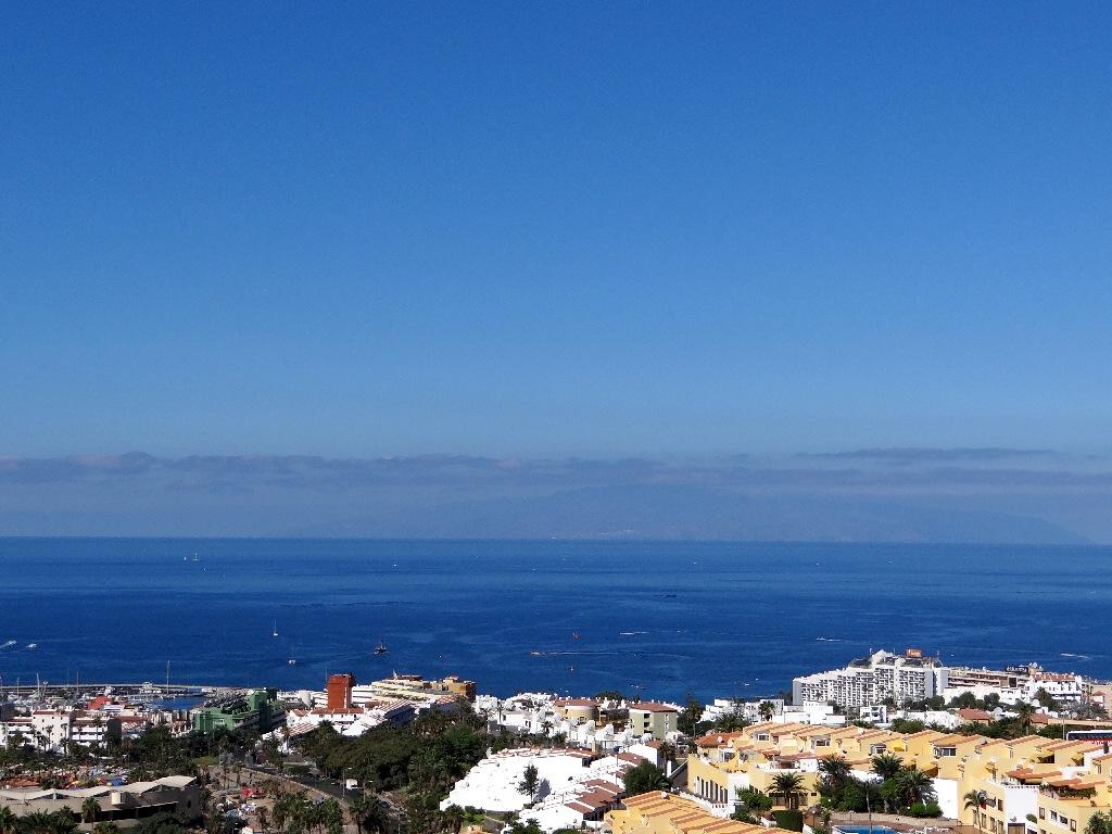 Costa Adeje Gomer island view