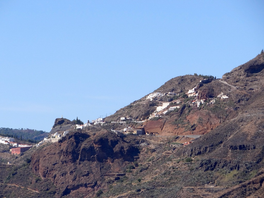 Gran Canaria town in the mountains