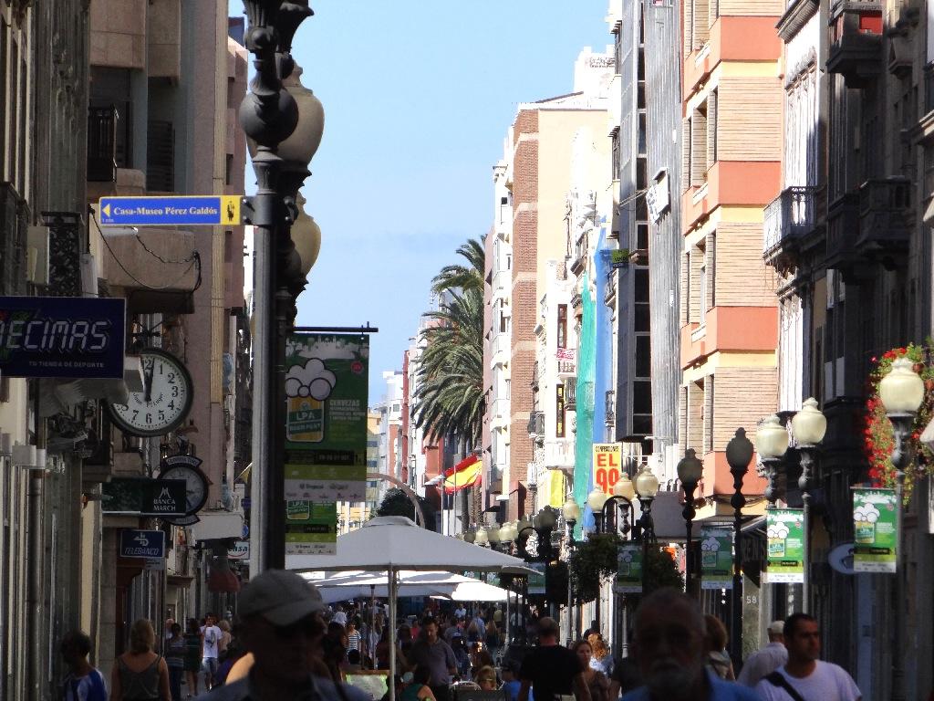 Las Palmas de Gran Canaria fair street