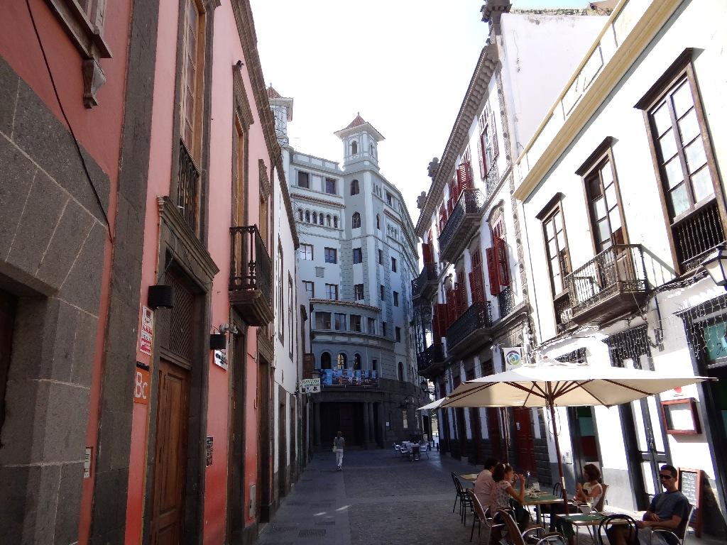 Las Palmas old street