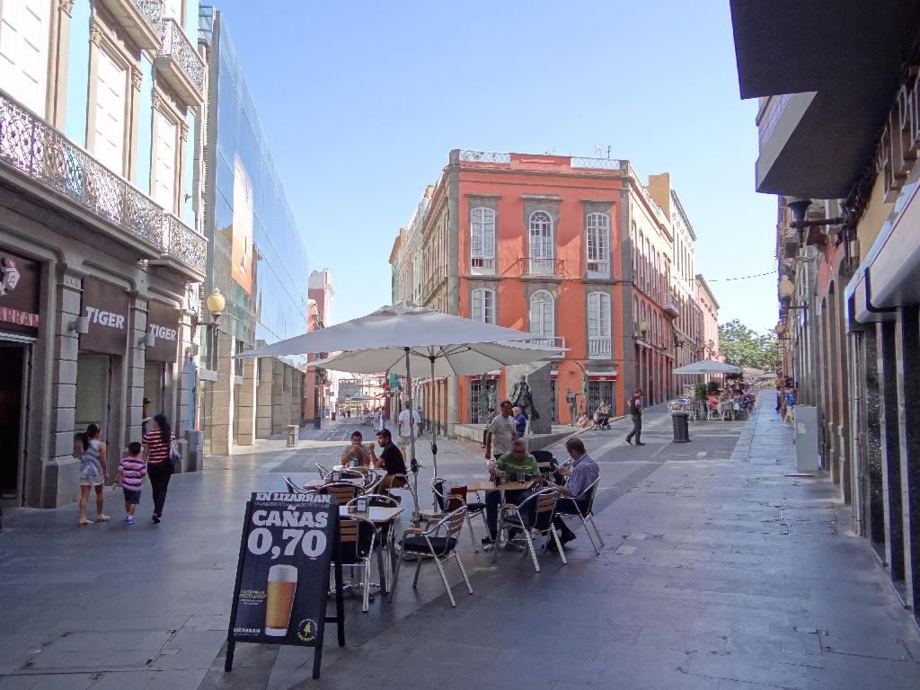 Las Palmas steet