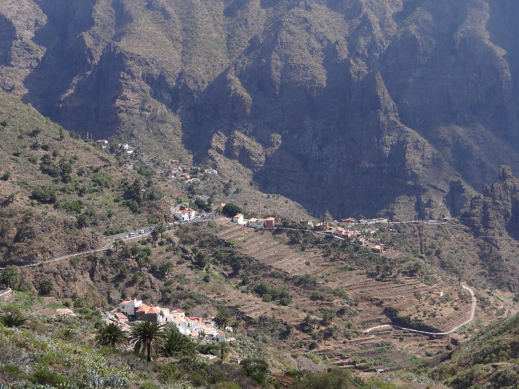 Maska Village in the mountains