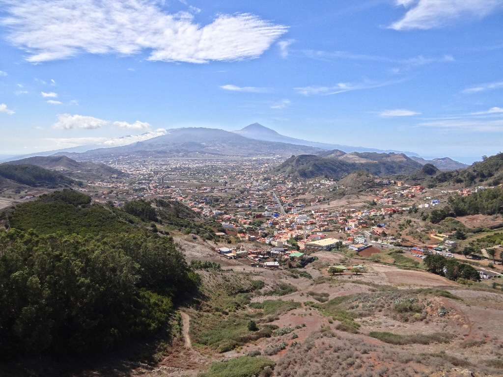 North Tenerife city view